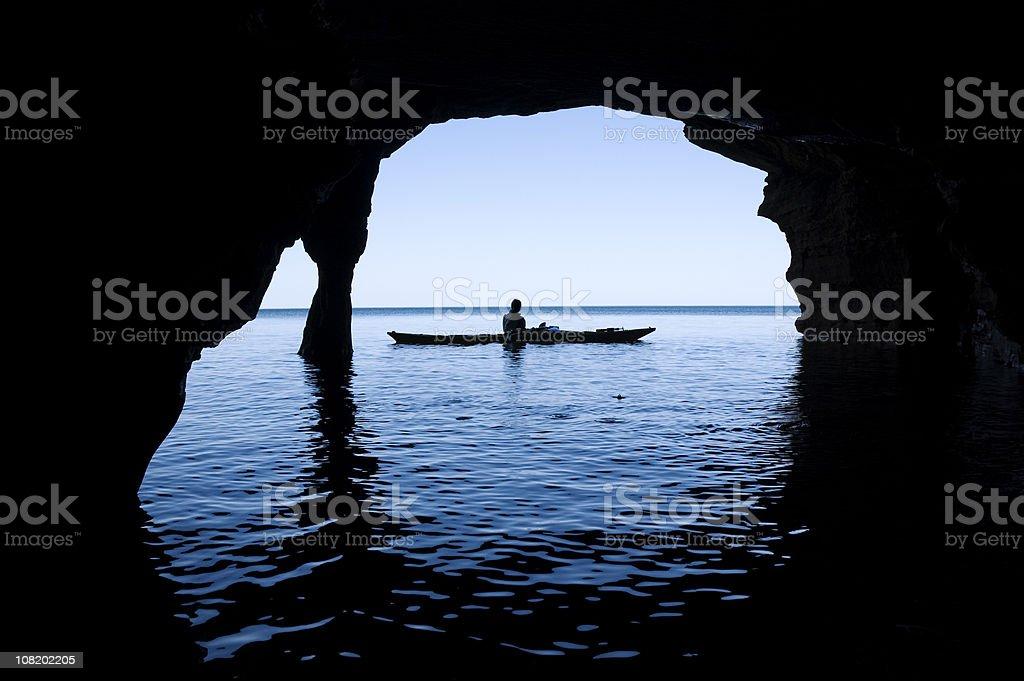 Sea Cave royalty-free stock photo