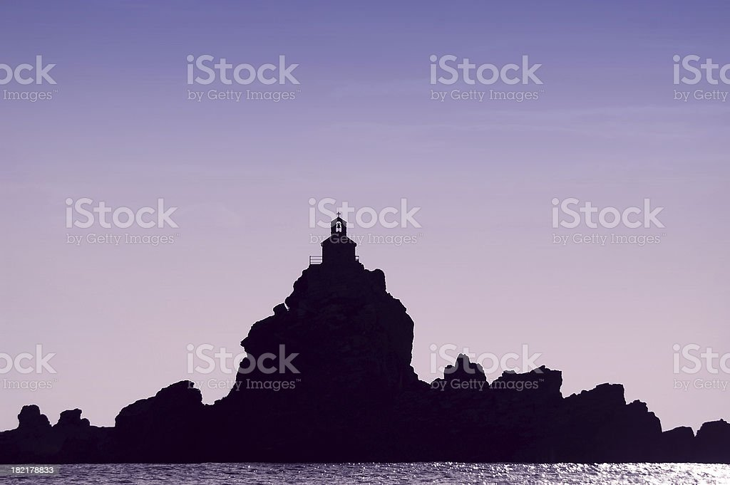 Sea Church stock photo