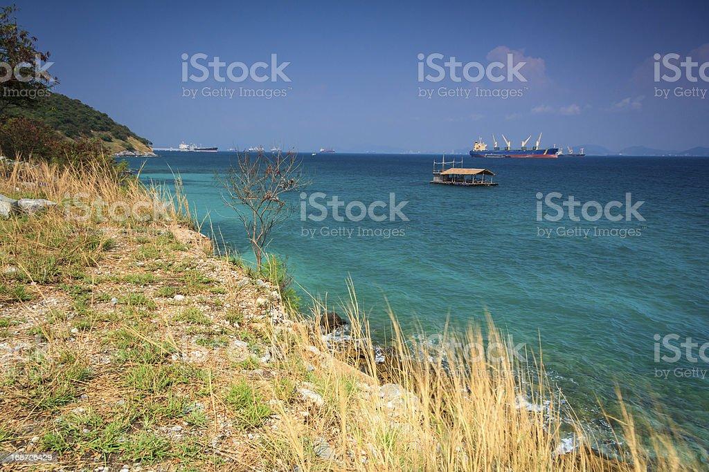 Sea Cliff royalty-free stock photo