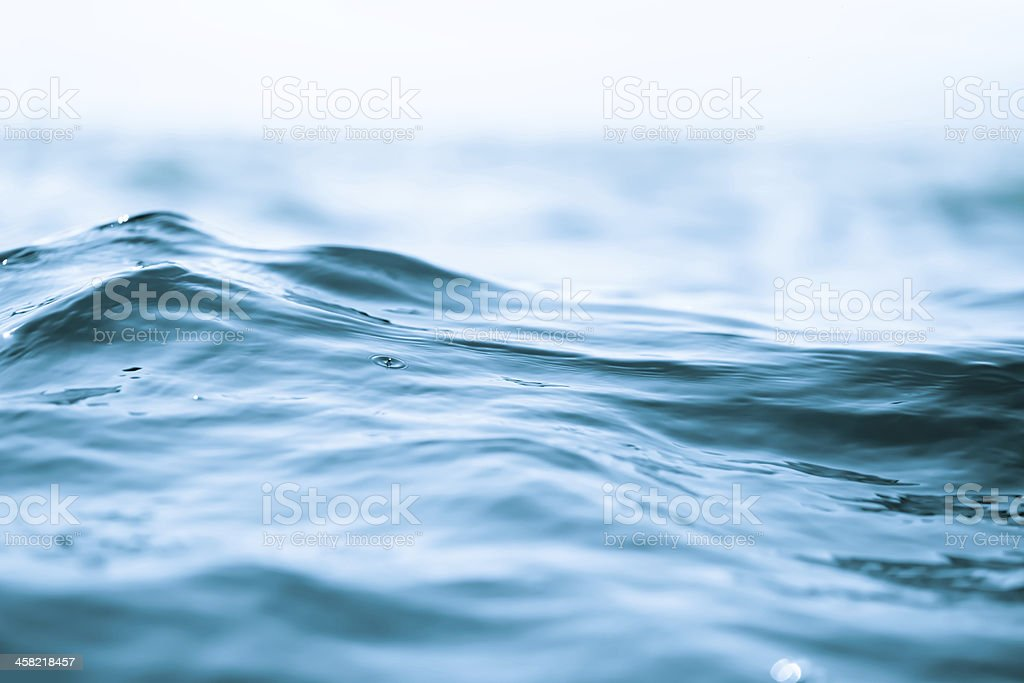 Sea Close-up stock photo