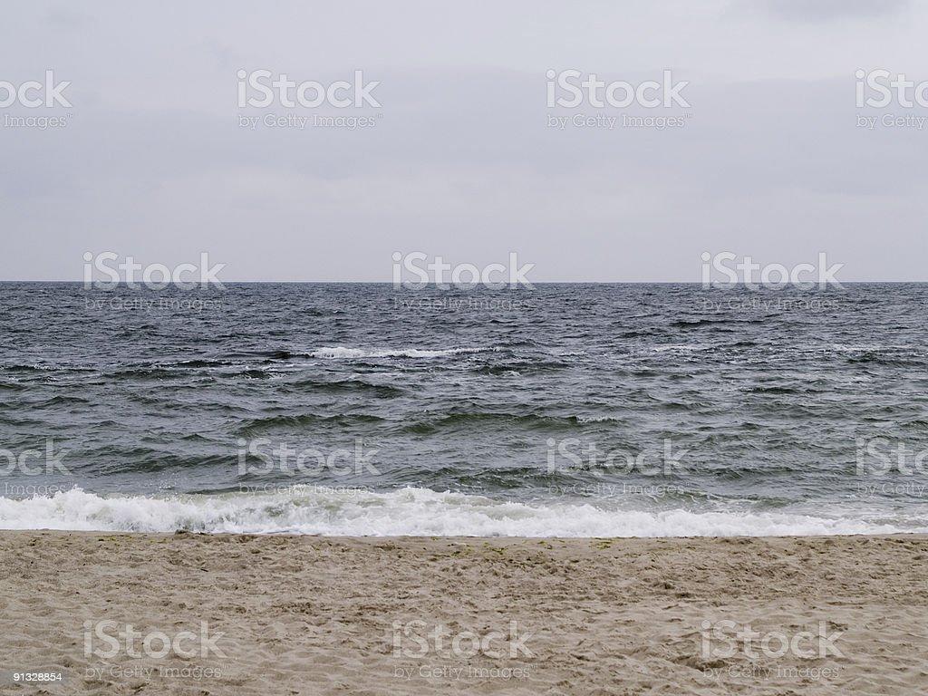 Meer coast Lizenzfreies stock-foto