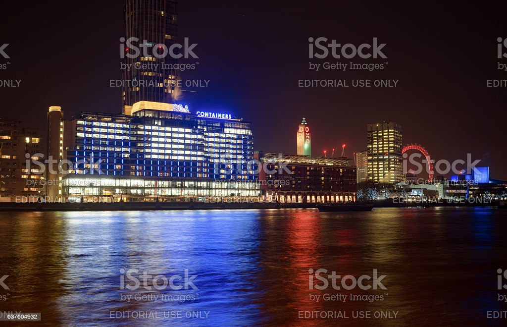 Sea Containers House & OXO Wharf stock photo