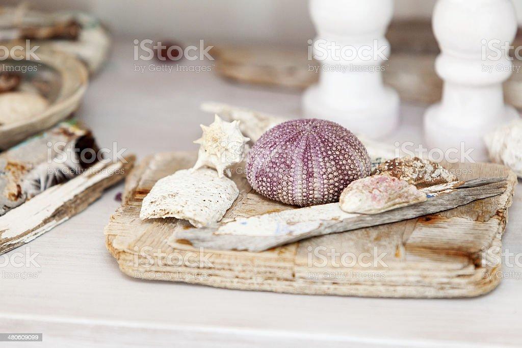 Sea decorations royalty-free stock photo