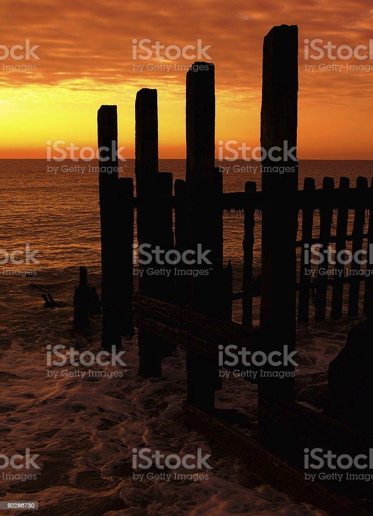 Morze elementy ochronne zbiór zdjęć royalty-free
