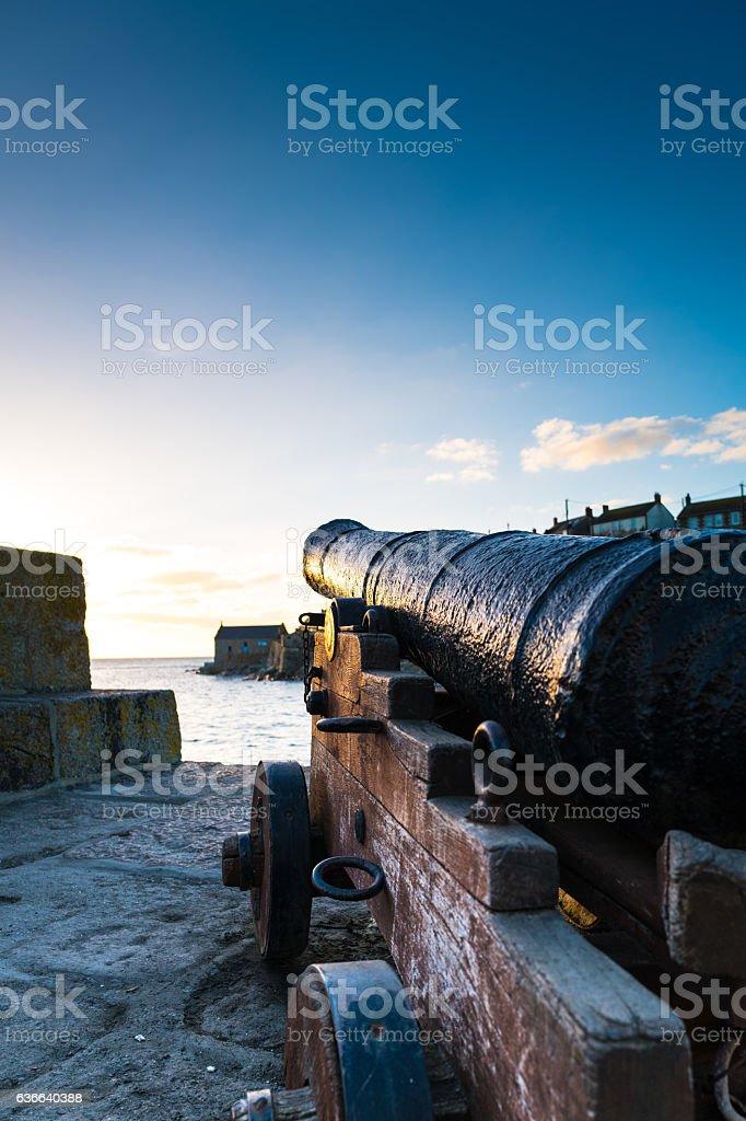 Sea Defense. stock photo