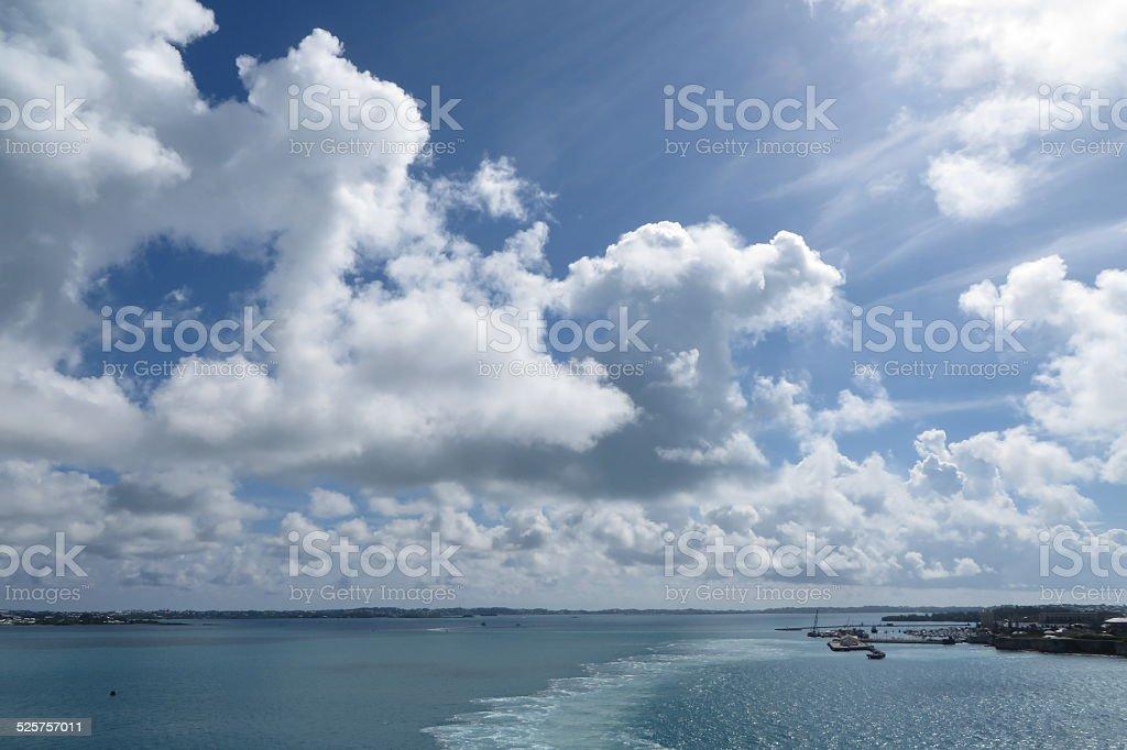 Nuisances la mer photo libre de droits