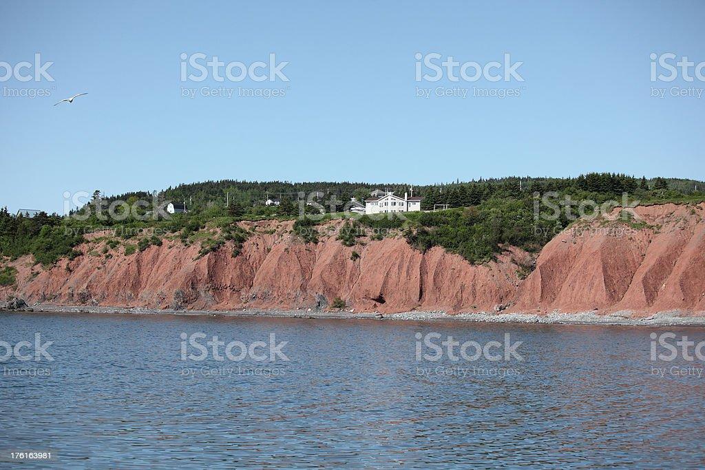 Sea Erosion stock photo