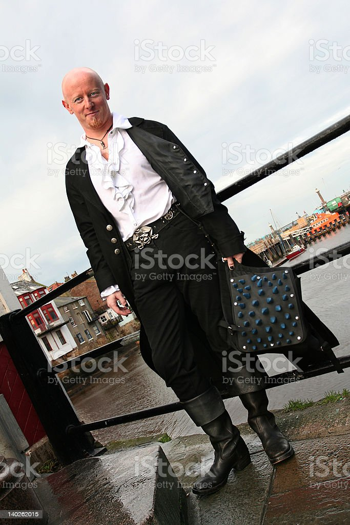 Sea Faring Goth royalty-free stock photo