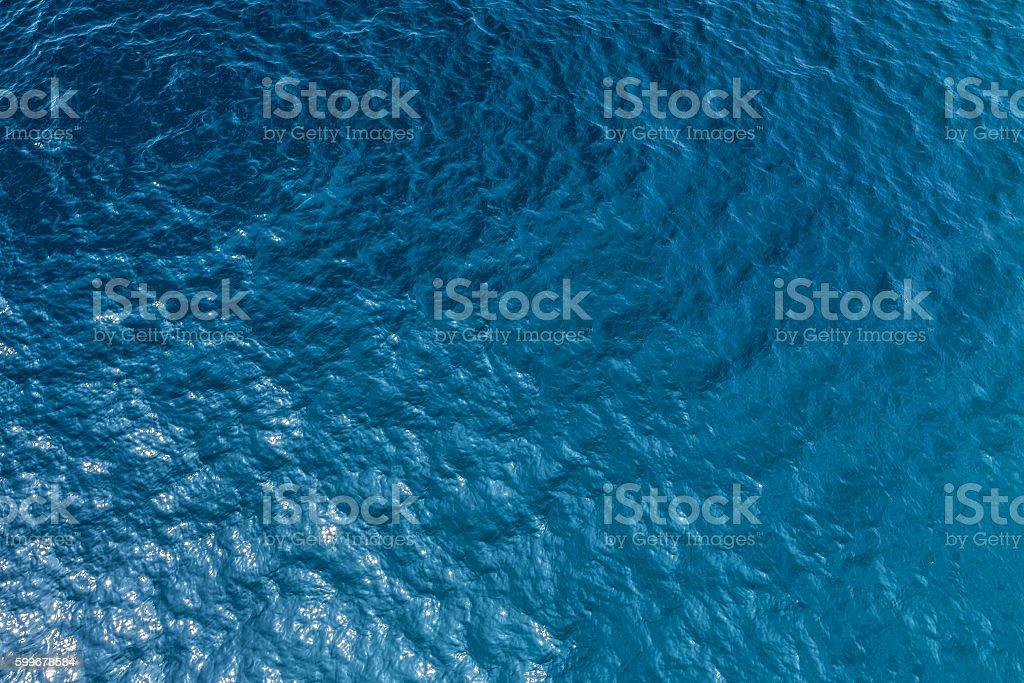 Sea floor stock photo