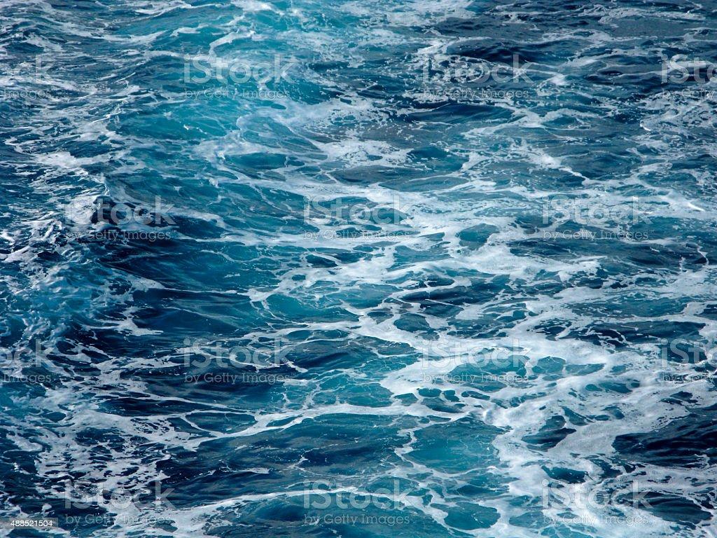 Sea foam stock photo