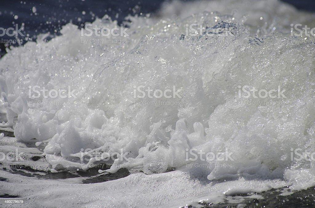 Sea Foam royalty-free stock photo
