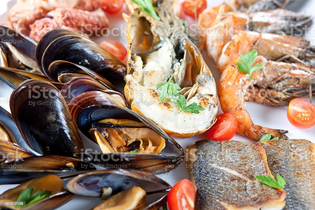 Sea food royalty-free stock photo