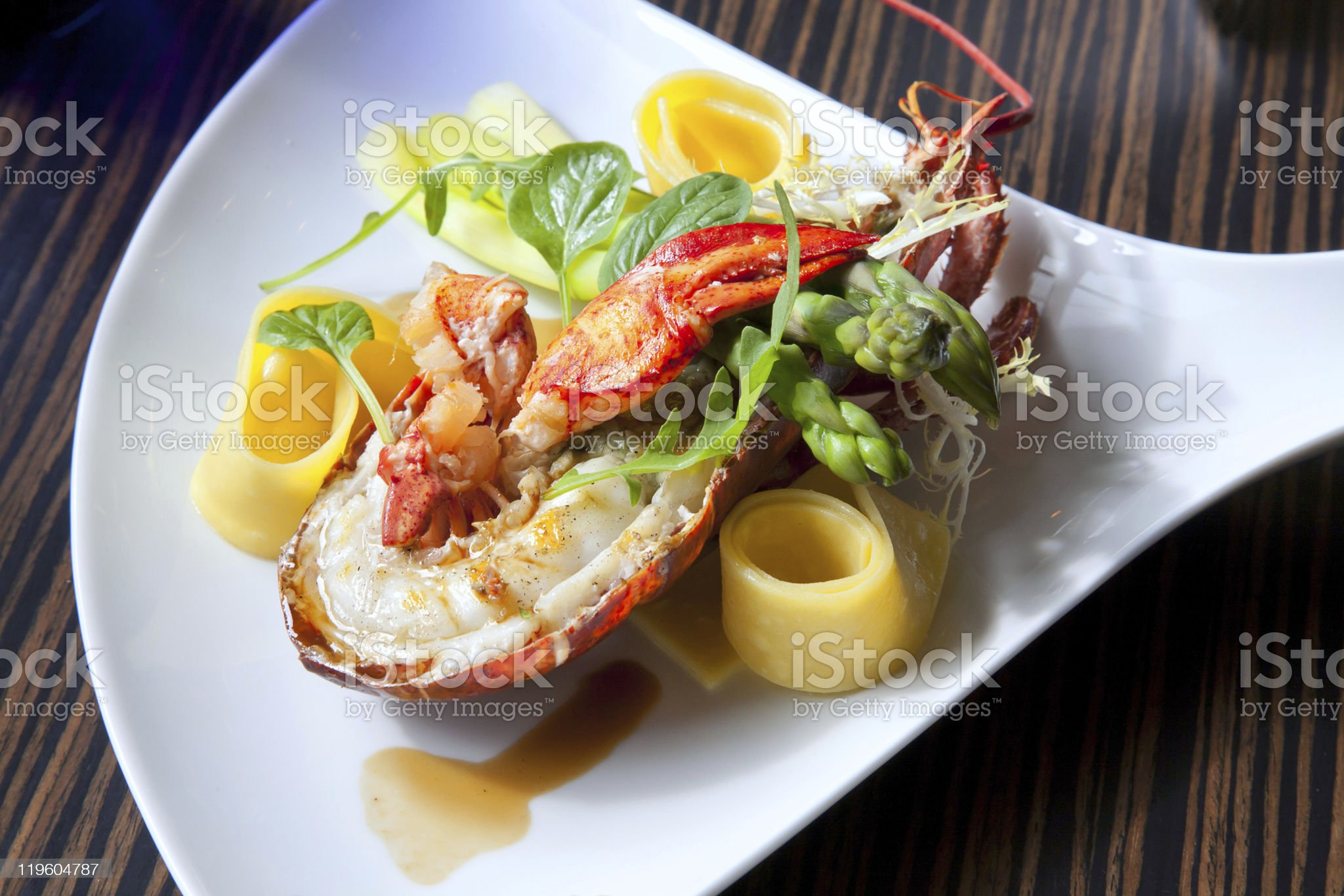 sea food plate royalty-free stock photo