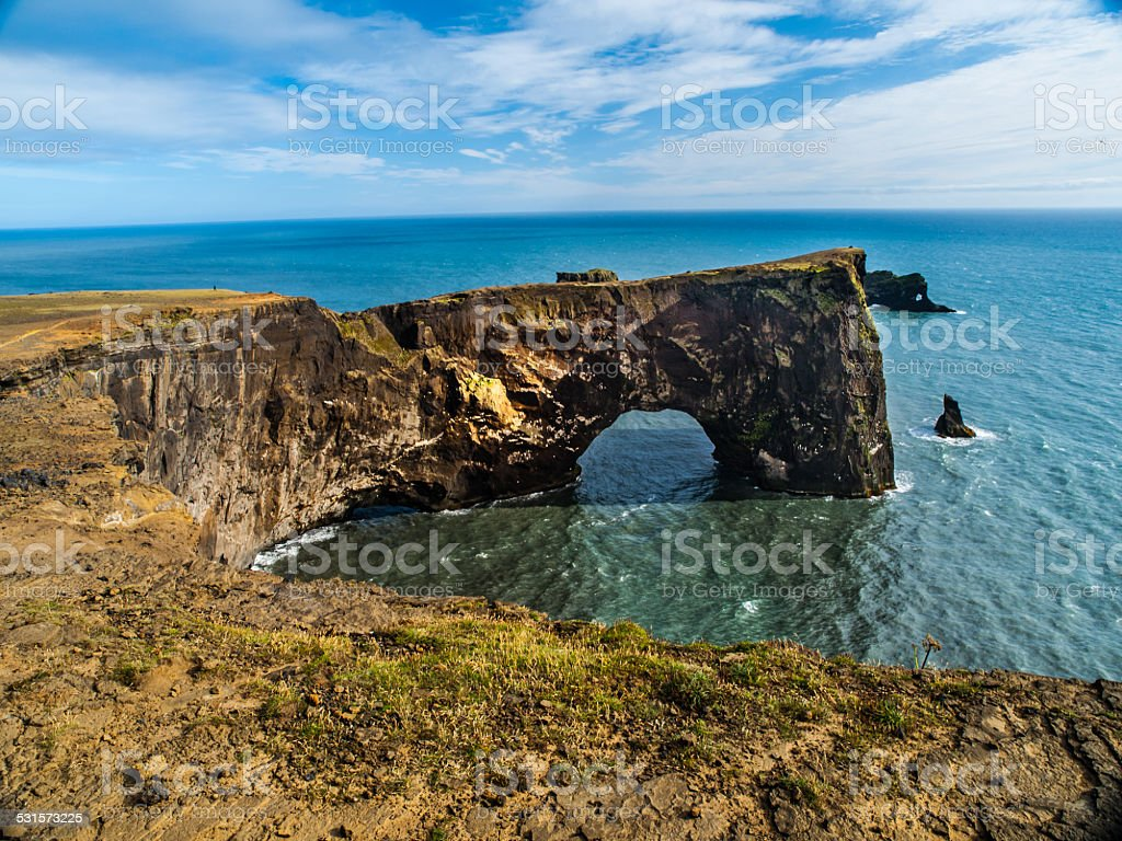 Sea gate stock photo
