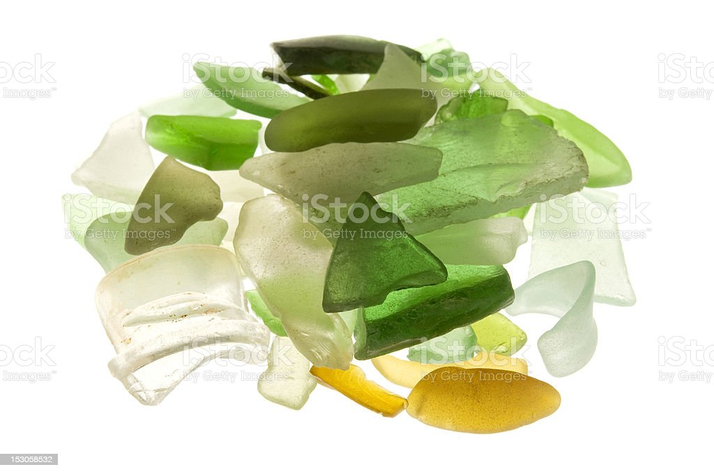 Sea glass royalty-free stock photo