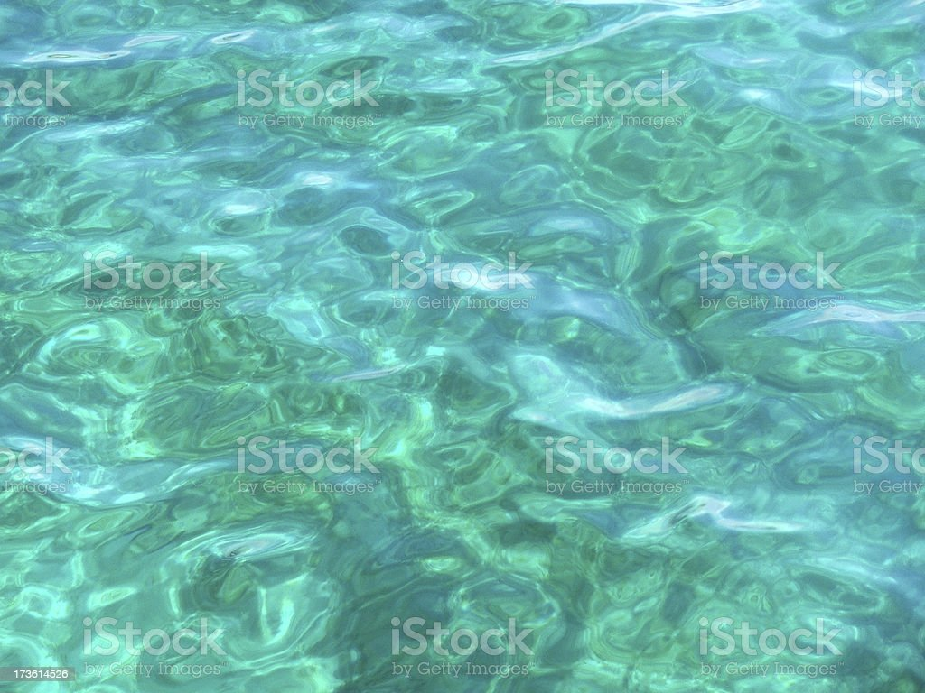 Sea Green royalty-free stock photo