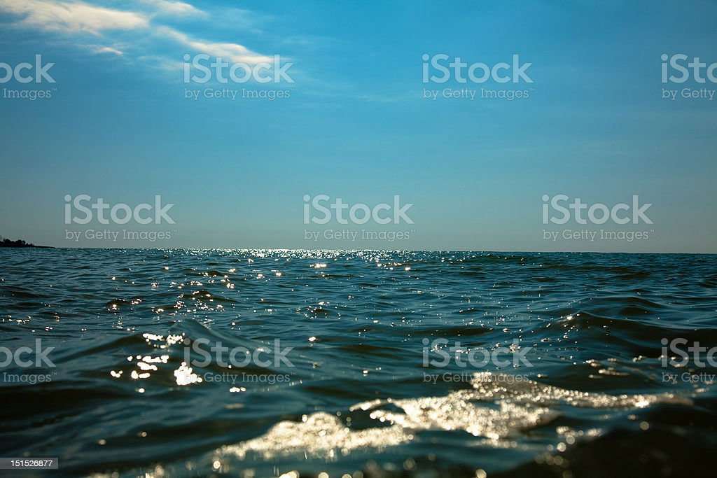 sea horizon royalty-free stock photo