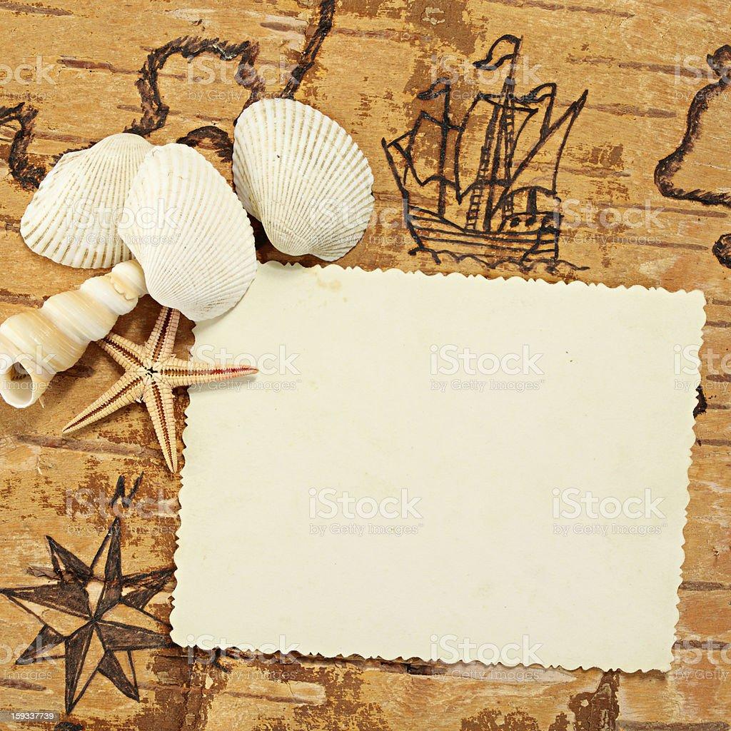 Sea impression stock photo