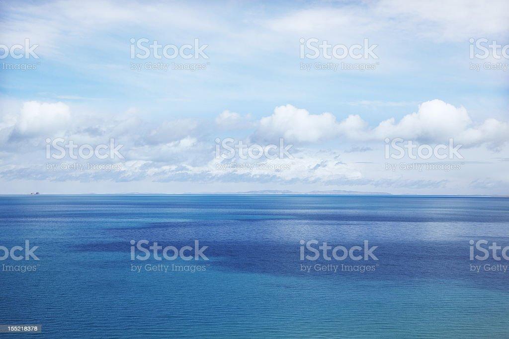 Sea in Tibet stock photo