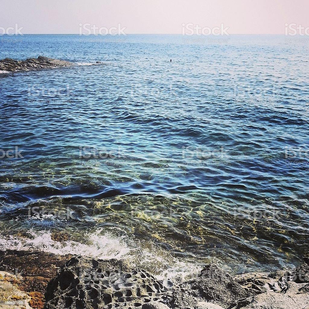 Sea in Tuscany, Italy - MobileStock stock photo