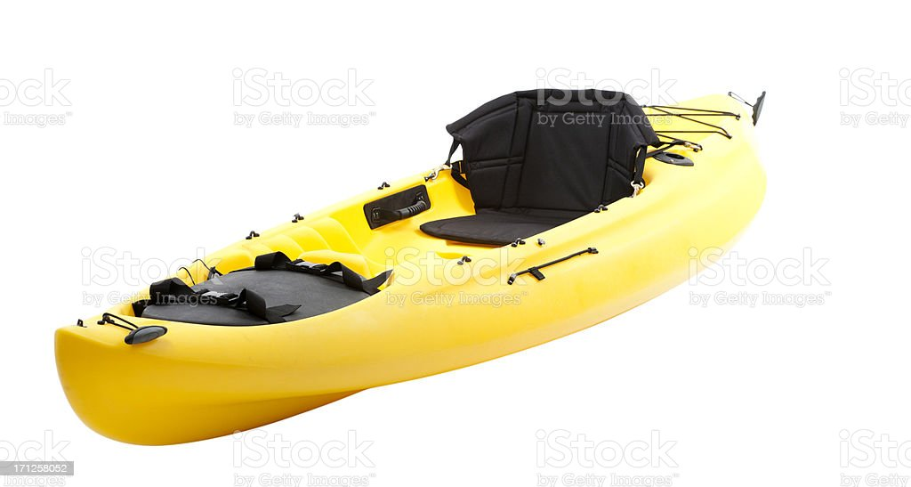 Sea Kayak - with clipping path royalty-free stock photo
