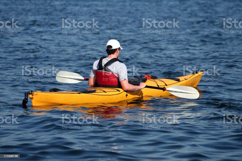 Sea Kayaker royalty-free stock photo