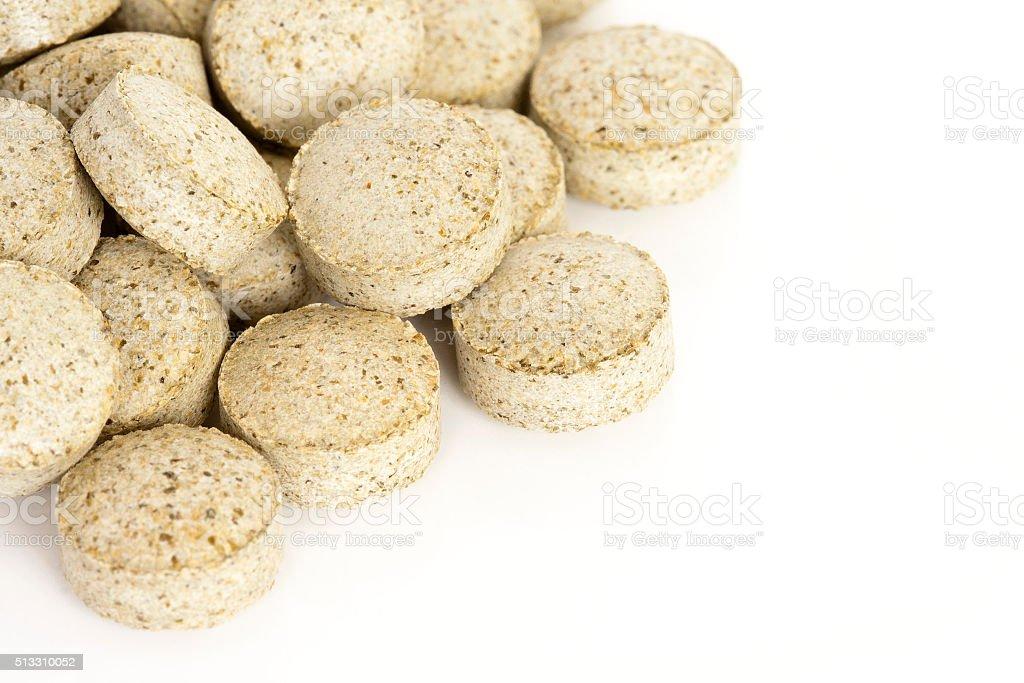 Meeresalgen Vitamin-Zusatzpräparate – Foto