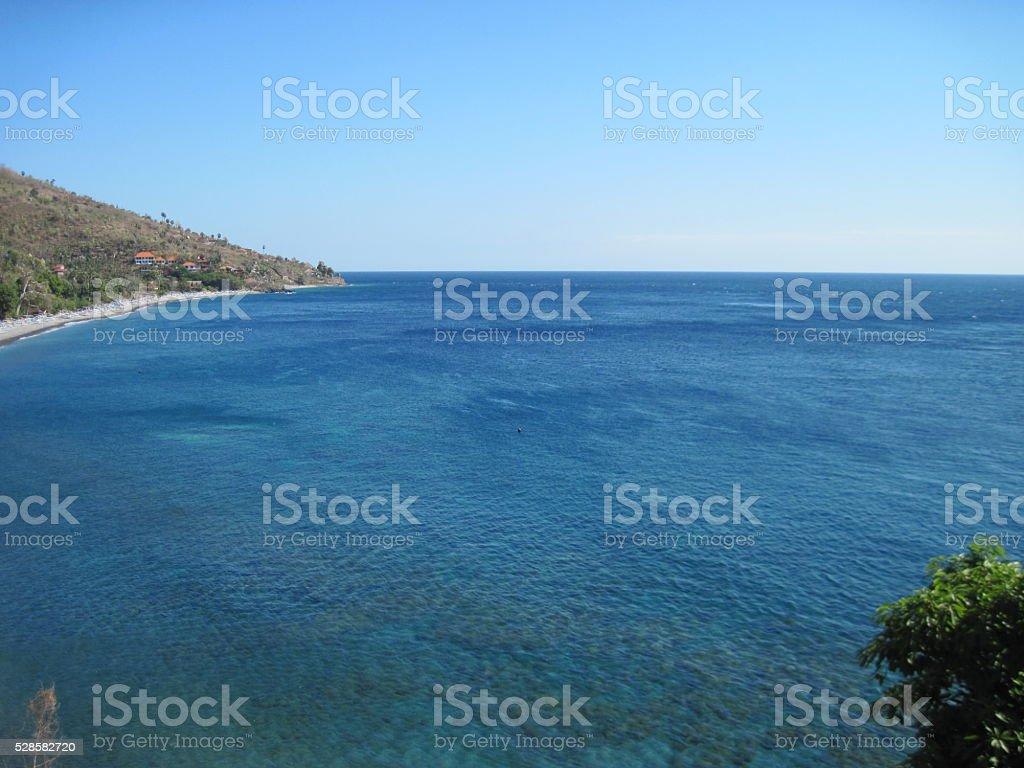 Meer-Lagune Lizenzfreies stock-foto