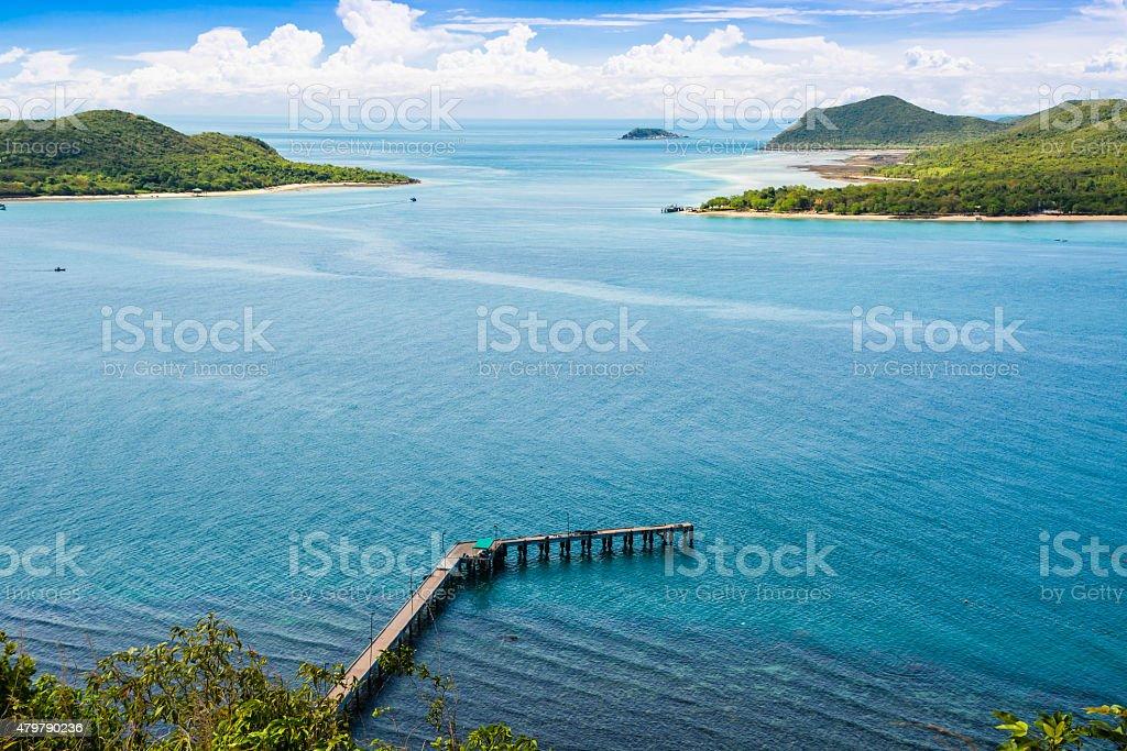Meer-Landschaft Lizenzfreies stock-foto
