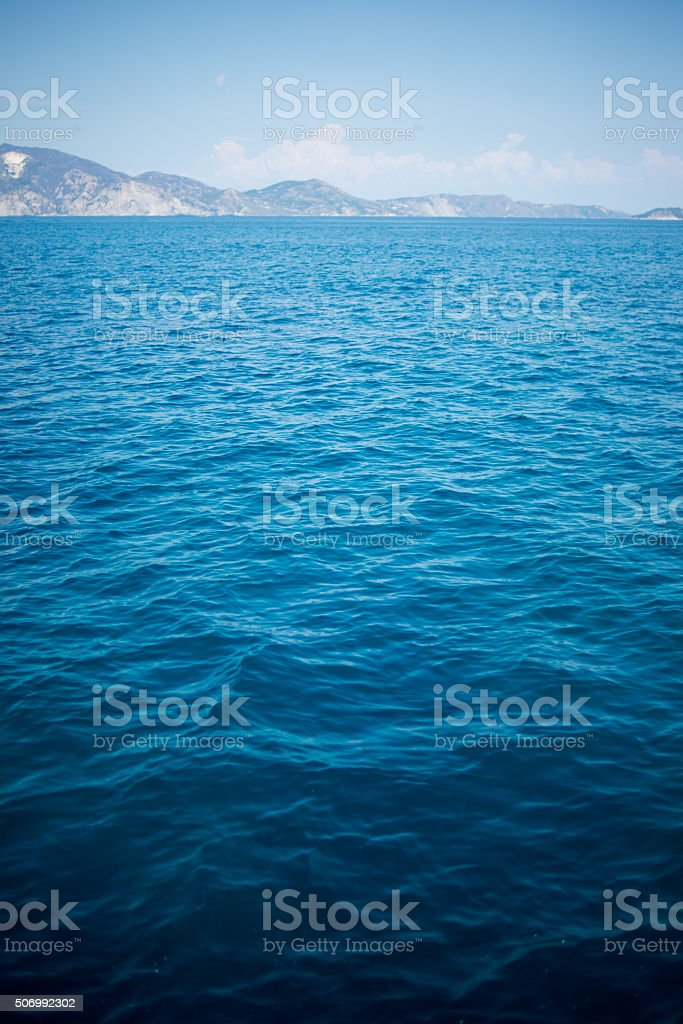 Sea landscape stock photo