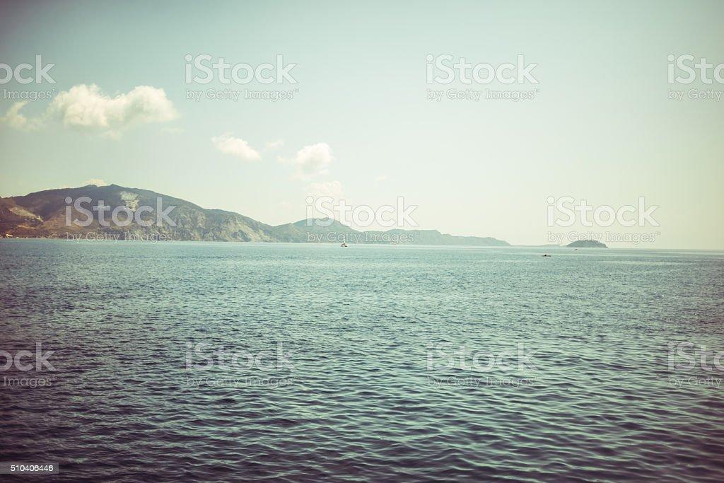 Sea landscape stock photo