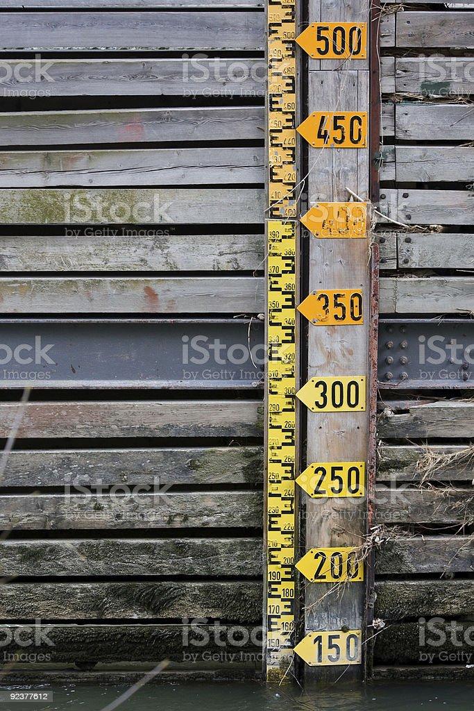 sea level royalty-free stock photo