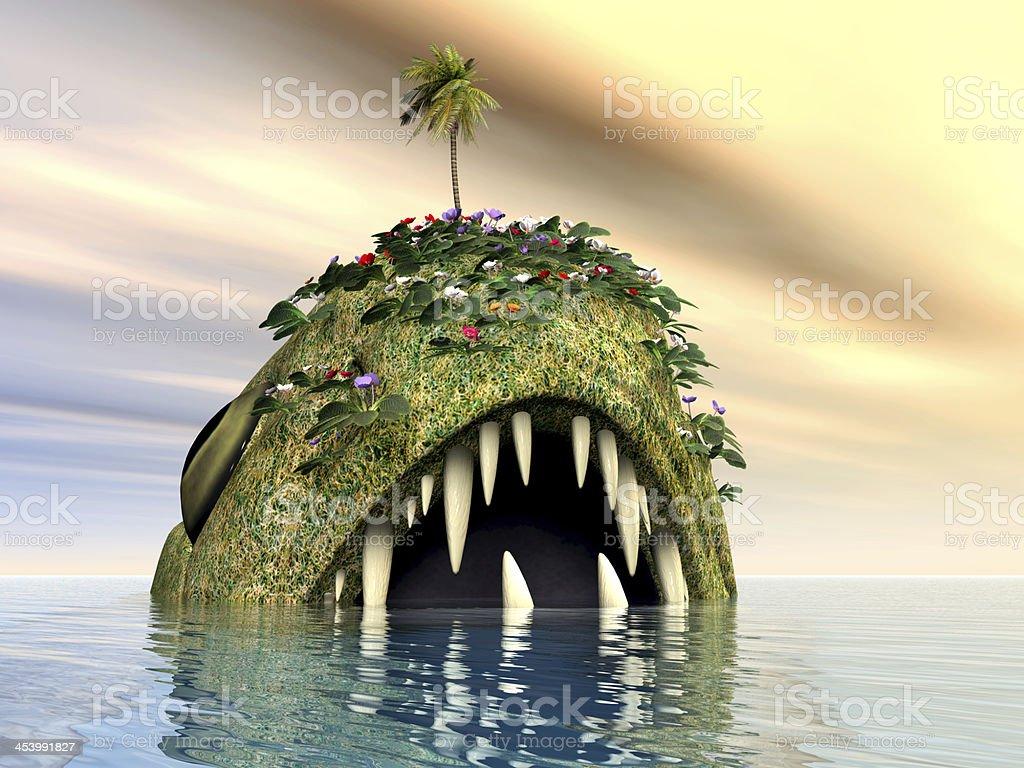 Sea Monster royalty-free stock photo