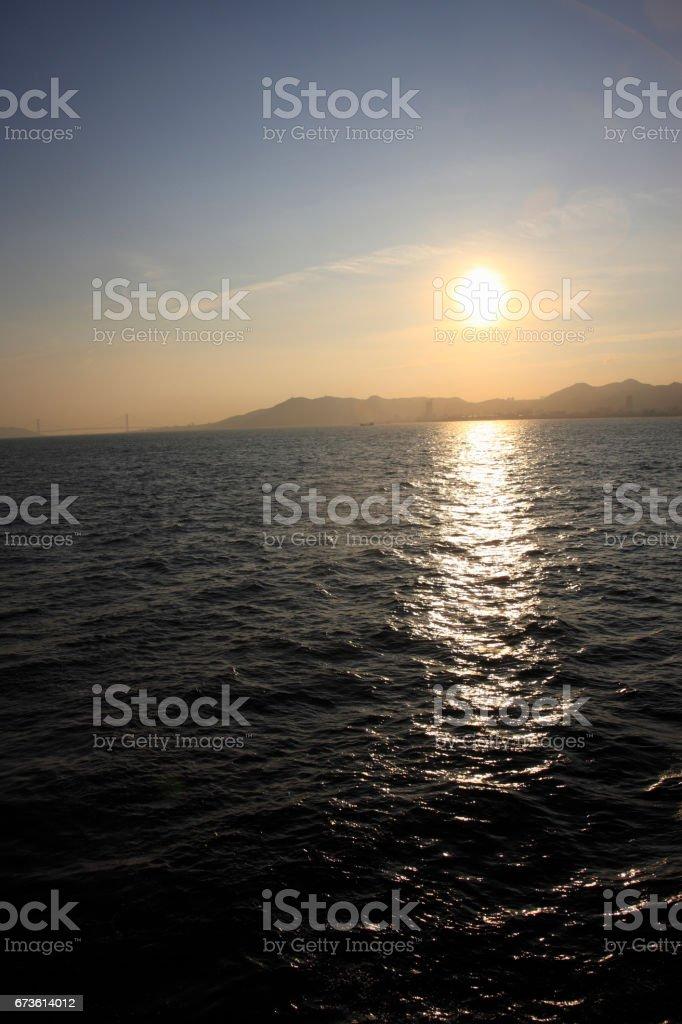 Sea of Akashi stock photo