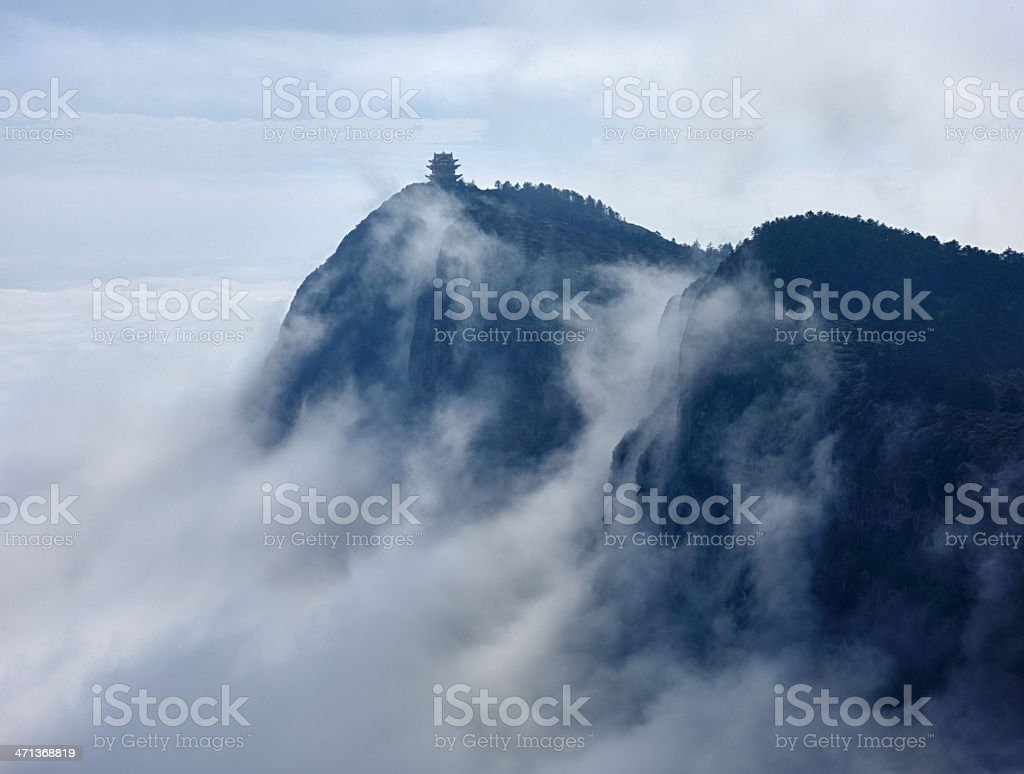 Sea of Cloud stock photo