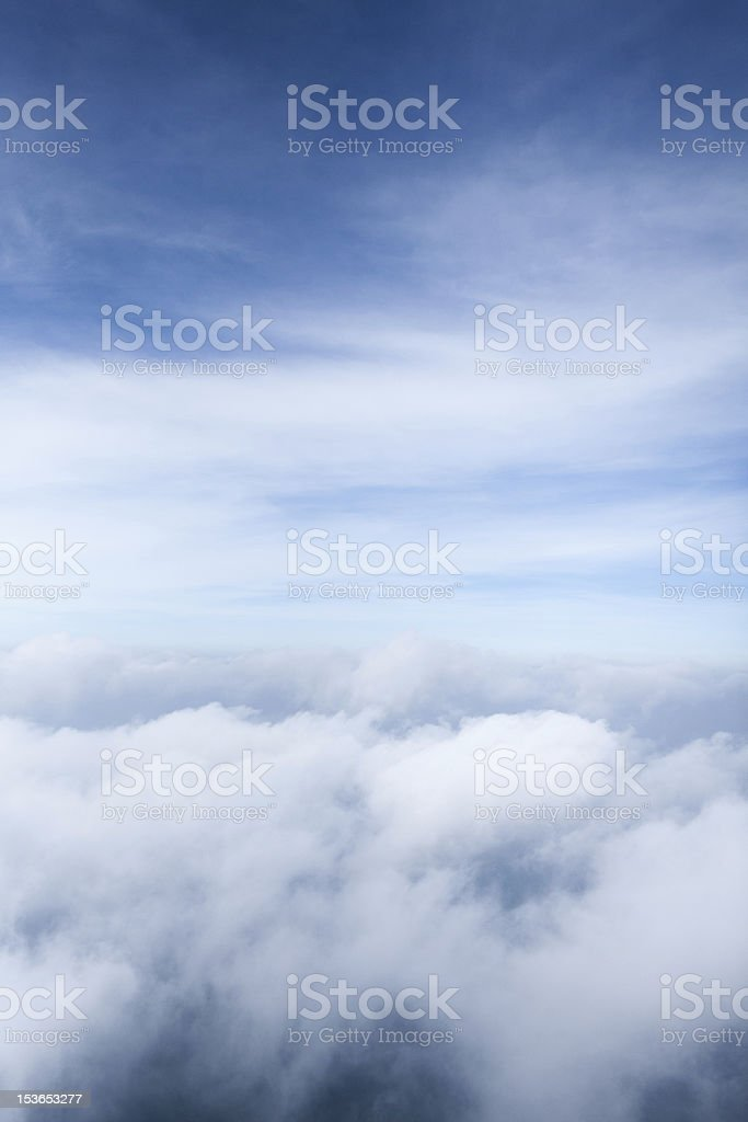 Sea of cloud2 royalty-free stock photo