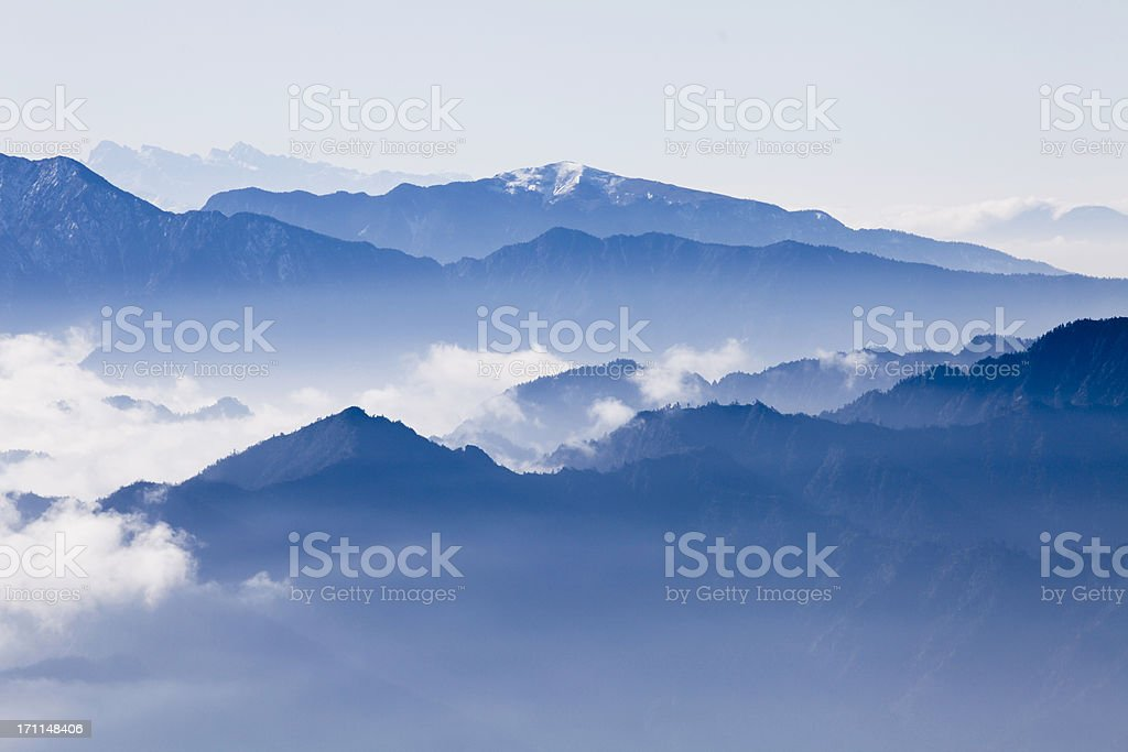 sea of clouds royalty-free stock photo