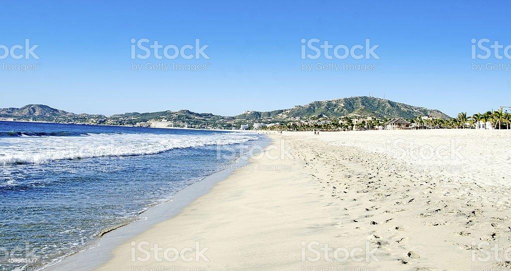 Sea of Cortez Beach stock photo