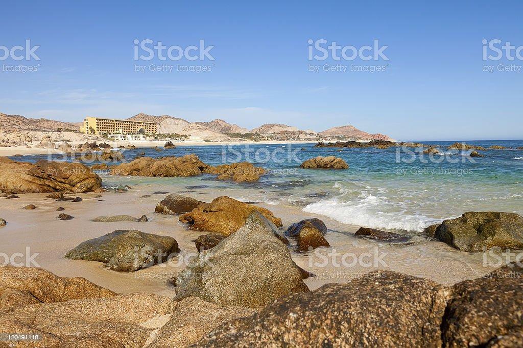 Sea of Cortez, Cabo San Lucas Beach stock photo