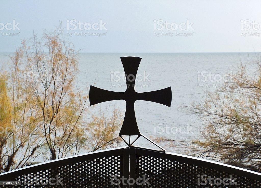 Sea of Galilee royalty-free stock photo
