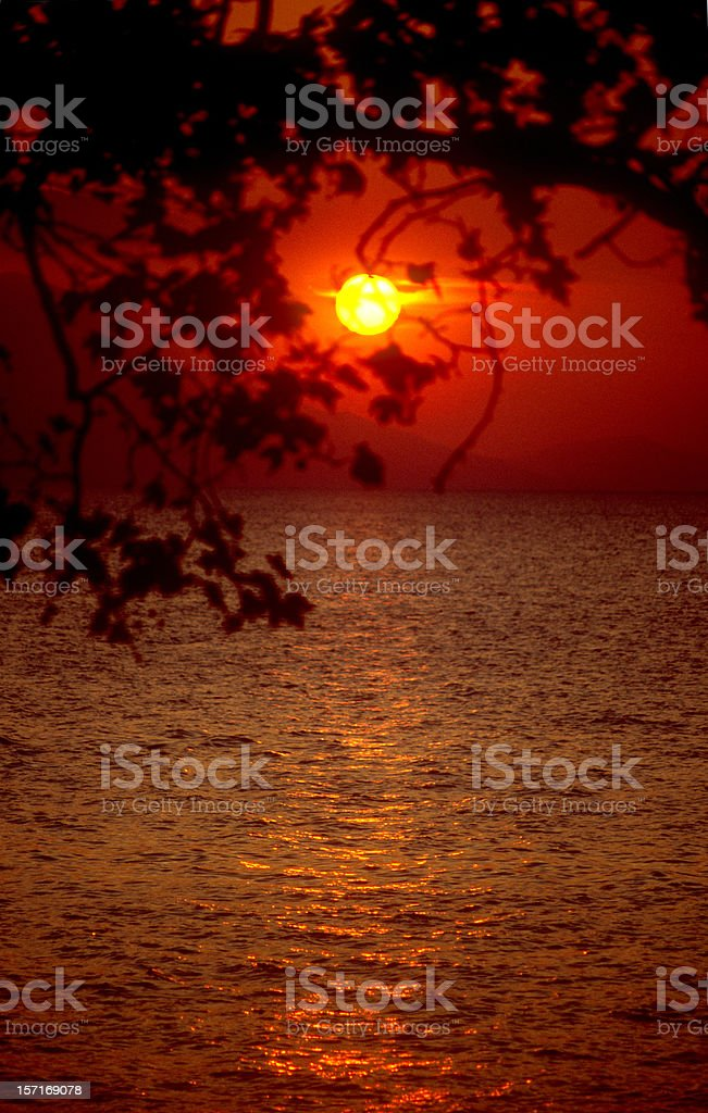 Sea of Galilie royalty-free stock photo