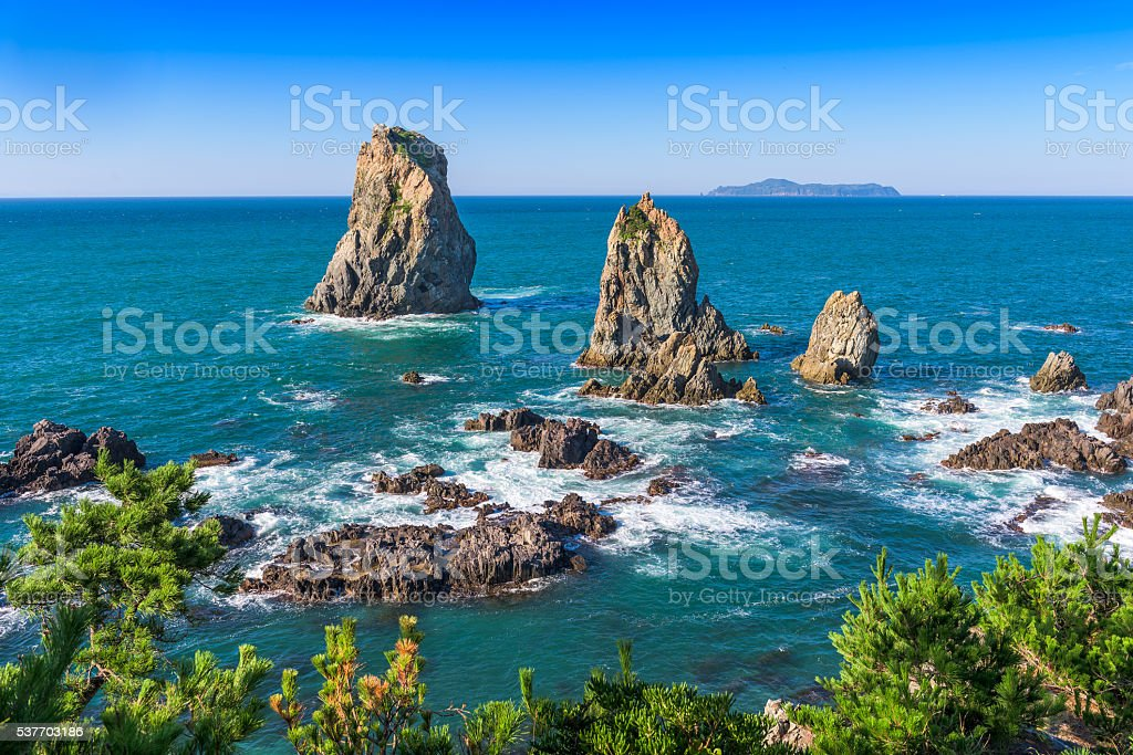 Sea of Japan stock photo