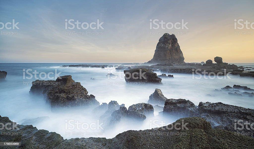 Sea of Mist stock photo