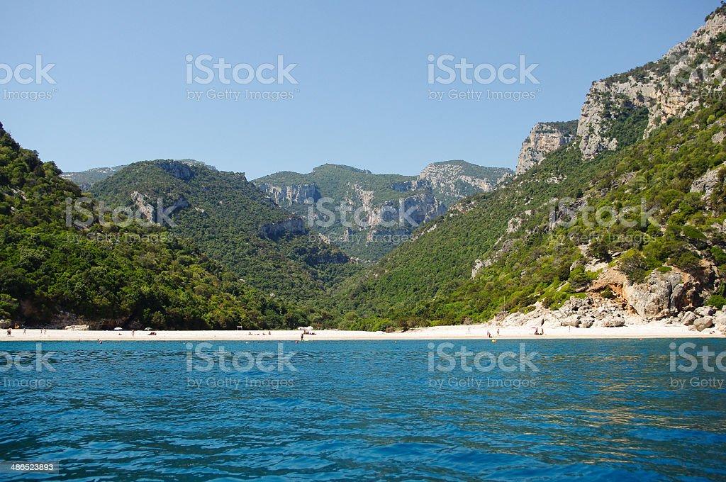 Sea of Sardinia royalty-free stock photo