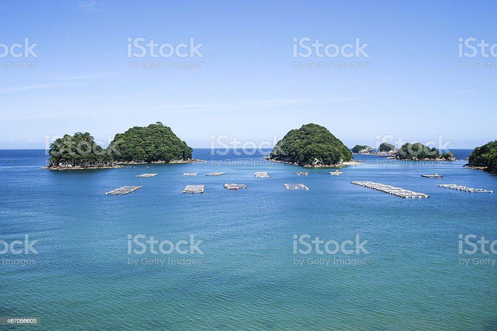 Sea of Tokushima,Japan stock photo