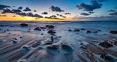 sea on the Baltic coast