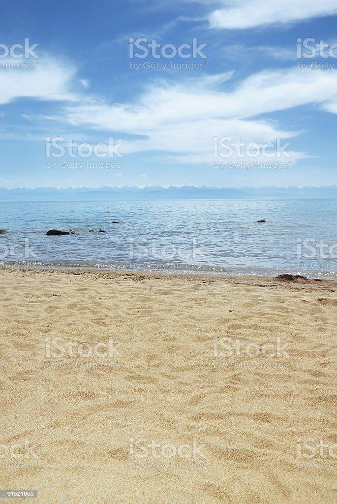 Sea paradise royalty-free stock photo