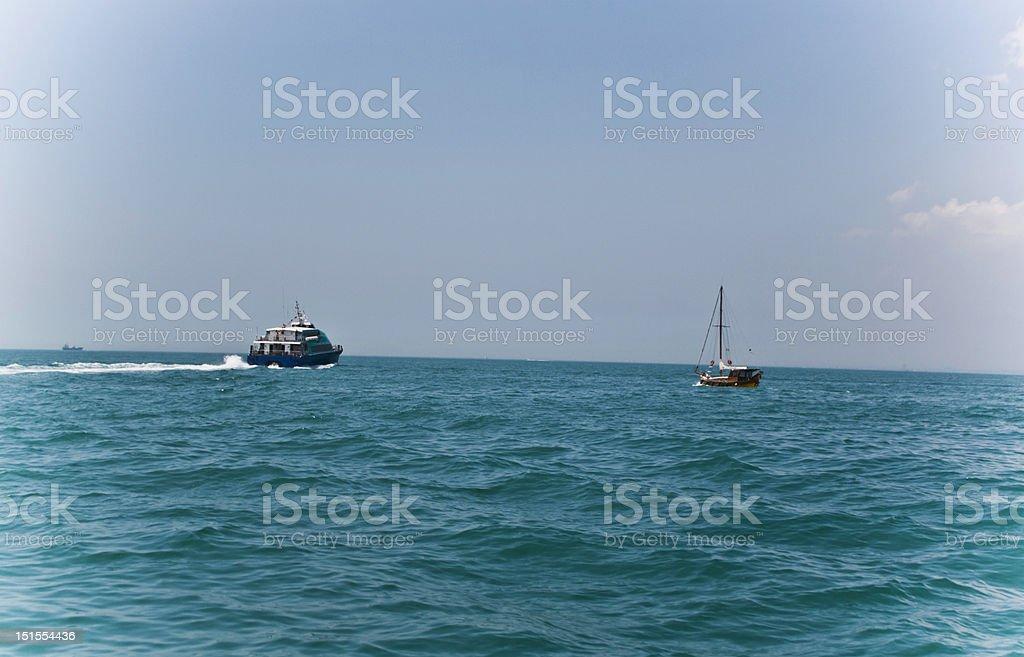Das Meer Lizenzfreies stock-foto