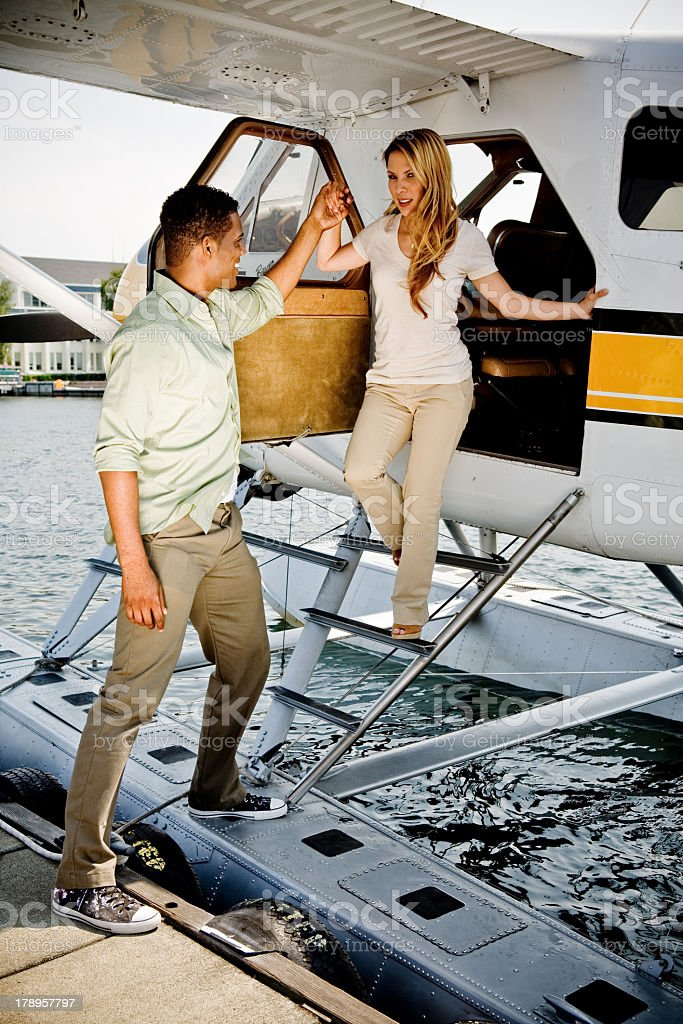Sea Plane royalty-free stock photo
