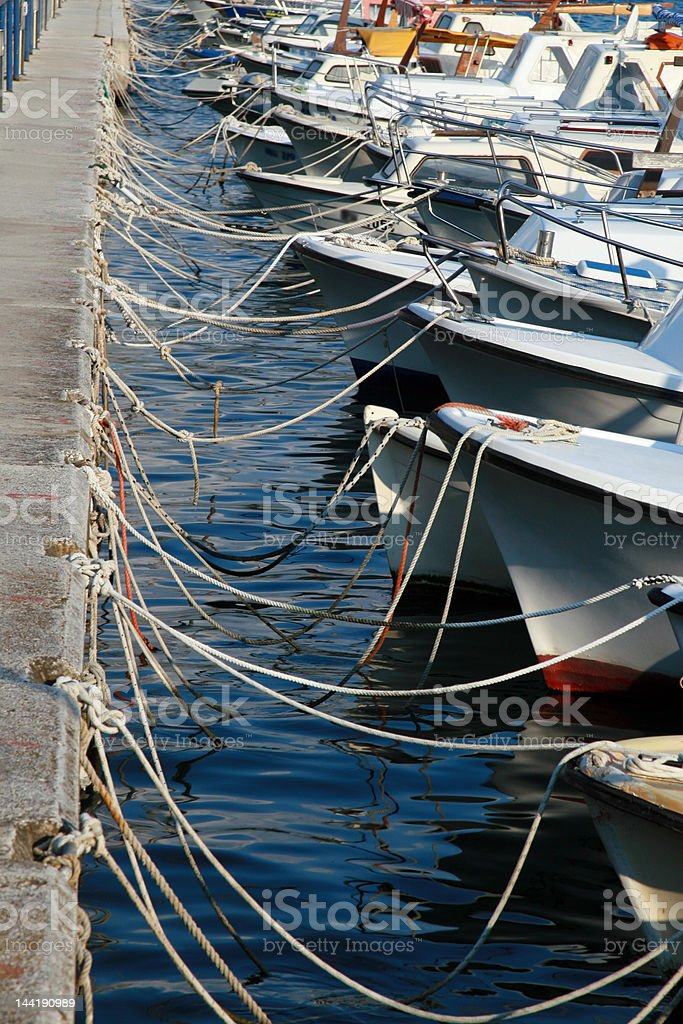 Sea Port royalty-free stock photo